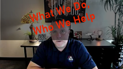 What We Do, Who We Help