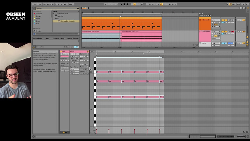 Obseen Academy: Introduction to Ableton