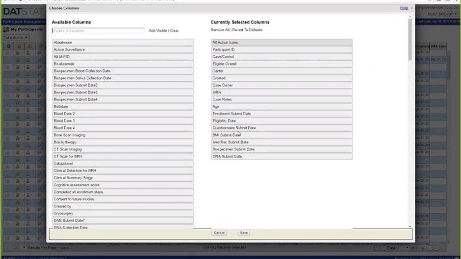 Database Training
