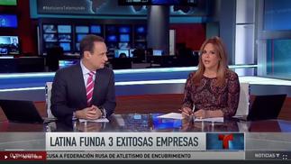 Latina triunfa en los negocios. Noticias Telemundo
