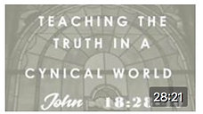 Teaching the Truth in a Cynical World