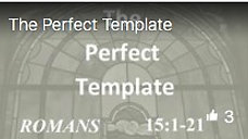 The Perfect Template Dec 1, 2019