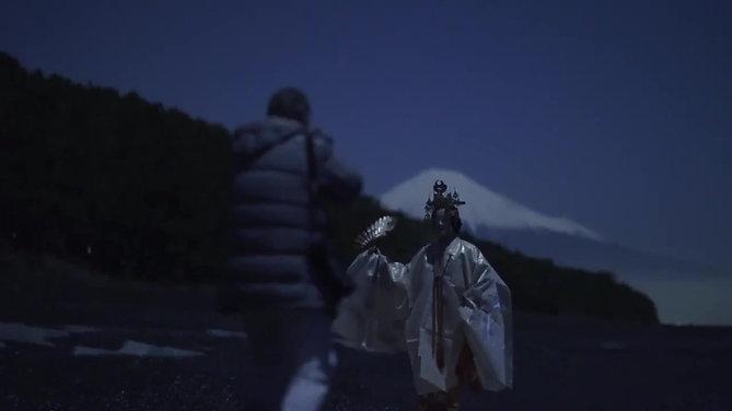 α: 伝承の地・三保松原で月下に舞う「羽衣」 -新「能」PROJECT-【ソニー公式】