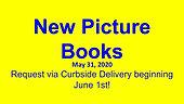 New Picture Books, 5/29/2020
