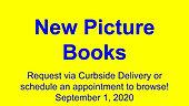 New Picture Books, 9/1/2020