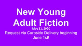 New Young Adult Fiction, 5/31/2020