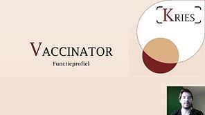 Vaccinator opleiding