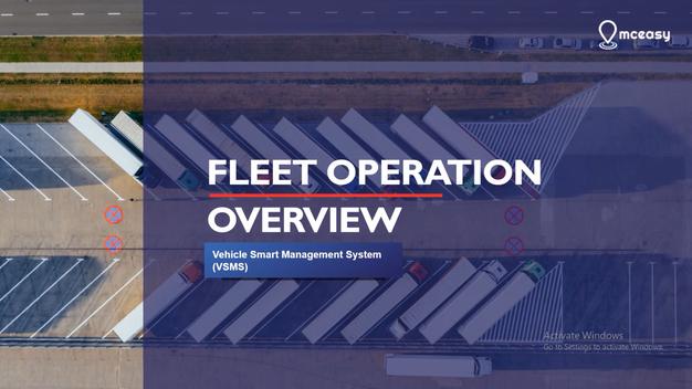 Overview Fleet Operation