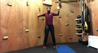 10 mins PFFA flexibility tests and stretches