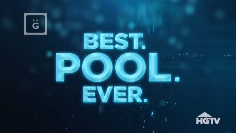 "Randy Angell featured on HGTV's ""Best. Pool. Ever."""