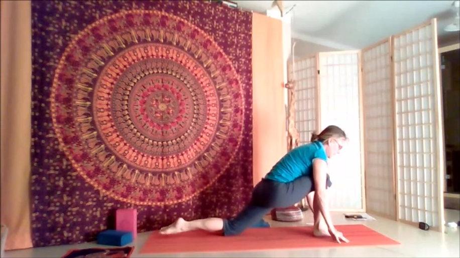 Yoga Live-Kurs vom 31.03.2021