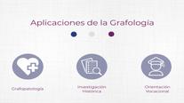 APLICACIONES DE LA GRAFOLOGÍA II