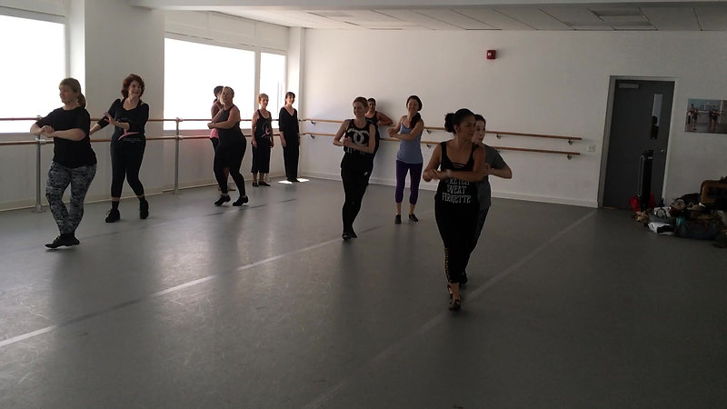 Fosse! Class with Ellie Potts Barrett Day 2