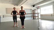 Tendu tutorial: Working through the foot and the floor