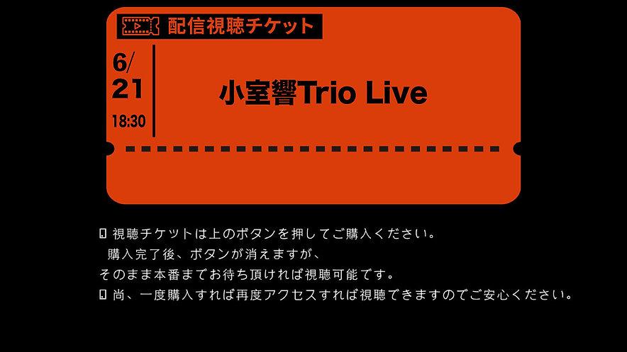 小室響Trio premium show