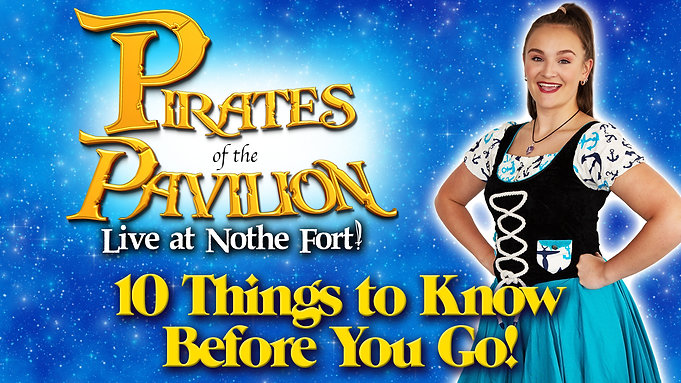 Pirates of the Pavilion - Live at Nothe Fort - 10 Things to Know Before you Go!