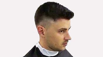 Мужская стрижка на короткие волосы лаврентьев
