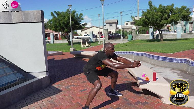 Tyson's Lower body workout