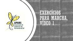 Exercícios para marcha 1