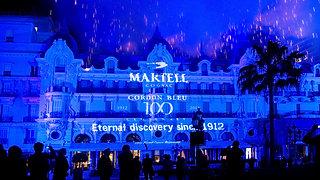 Centenaire du cognac cordon bleu de Martell - Monaco