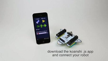 Space Bristlebots App Control