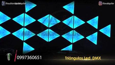 TRIÁNGULOS LED