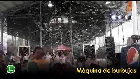 MÁQUINA DE BURBUJAS