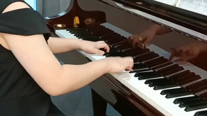 Fantasia in C minor by JS Bach