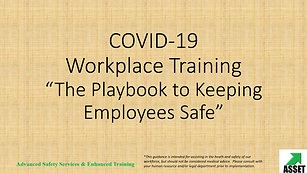 COVID-19 Safety Playbook (Employee Edition)