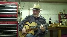 Randy Caldwell Playing Brad Goodman Archtop Guitar