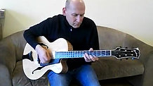Dave Hirschman playing Learnin the Blues on Goodman 16 Archtop guitar