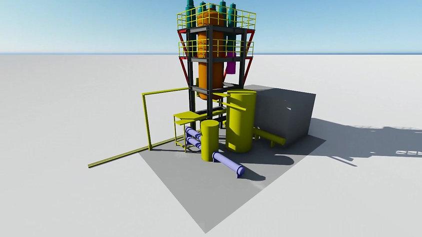 桃園筒槽設計3D