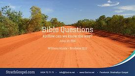 Bible Questions 3 - Willians Alcala.