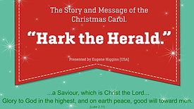 Thur - Hark the Herald Angels sing...