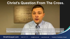 Christ's Question from the Cross - Brandon Doll