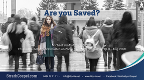 Are you saved? : Michael Penfold, UK