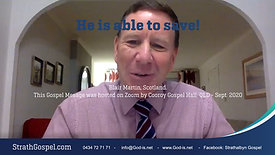 He is able to save! - Blair Martin - Scotland