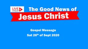 Gospel Meetings 26th Sept - Where is God?