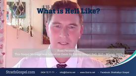 What is hell like? - Ross Persson