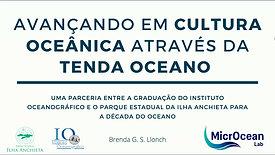 Avançando em cultura oceânica através da tenda oceano