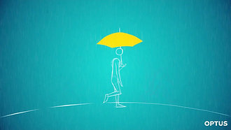Optus | Umbrella Animation