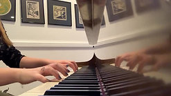 Two Part Invention No. 4 in D Minor by Bach- Maya
