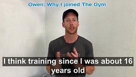 Owen -  Testimonial