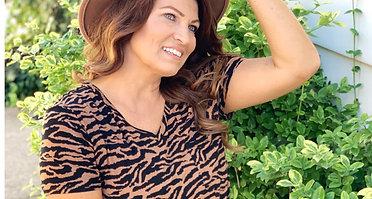 Beth Tiger Tee