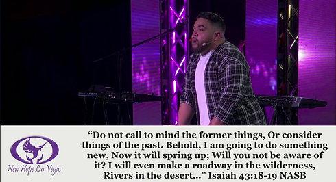 21-01-31 Expect New Releases Pastor Austin Tialavea