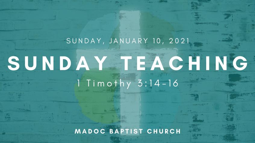 This Week's Teaching Video