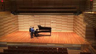 Ravel Violin Sonata No.2, II. Blues. Moderato