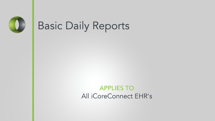 35 - Basic Daily Reports