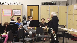 Master Class with Professor Jeffery Silberschlag - Nicholas B.