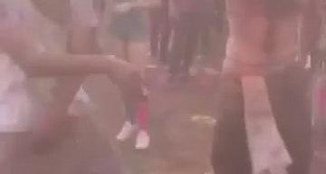 Beloved Dancing at Color Festival